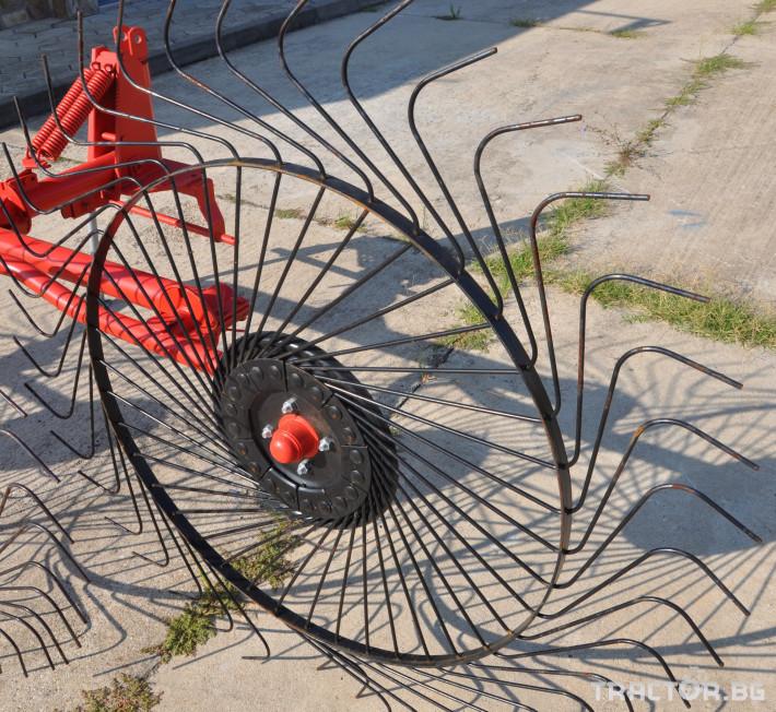 Сенообръщачки Сеносъбирач POINT модел  4 работни органа 2 - Трактор БГ