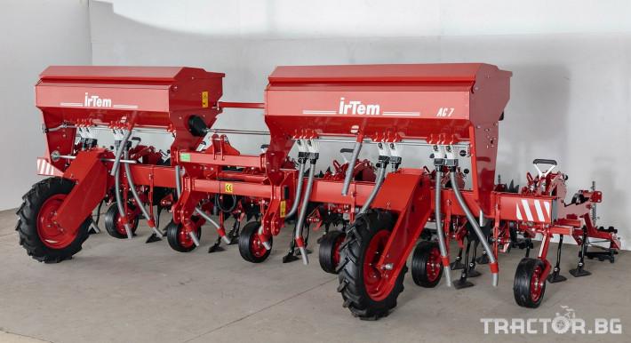 Култиватори IrTem Окопен култиватор 7 секции с торовнасяне 1 - Трактор БГ