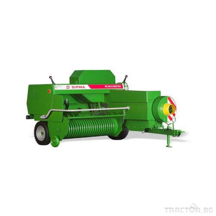 Сламопреси Sipma PK 4010 KOSTKA 3 - Трактор БГ