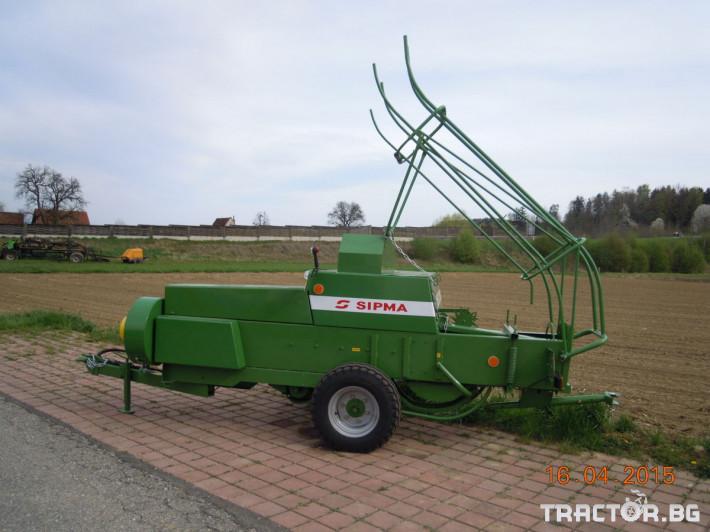 Сламопреси Sipma PK 4010 KOSTKA 1 - Трактор БГ