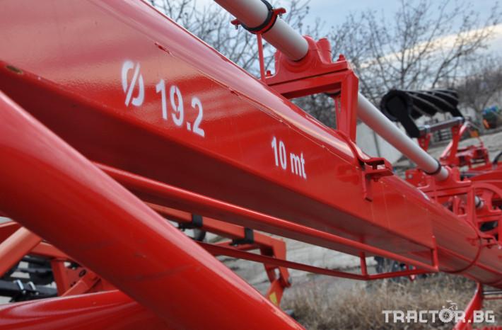 Обработка на зърно Шнекови зърнотоварачи dilsizler 3 - Трактор БГ