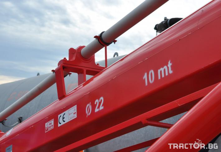 Обработка на зърно Шнекови зърнотоварачи dilsizler 11 - Трактор БГ