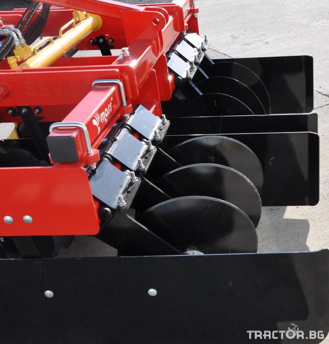 Брани Mass Дискова брана за лавандула с хидравично регулиране - ПРОМО ЦЕНА 9 - Трактор БГ