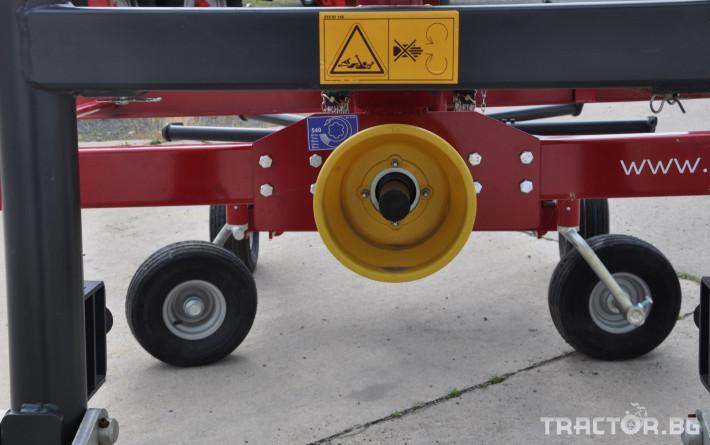 Сенообръщачки Cеносъбирачи FPM  Agromehanika 5 - Трактор БГ