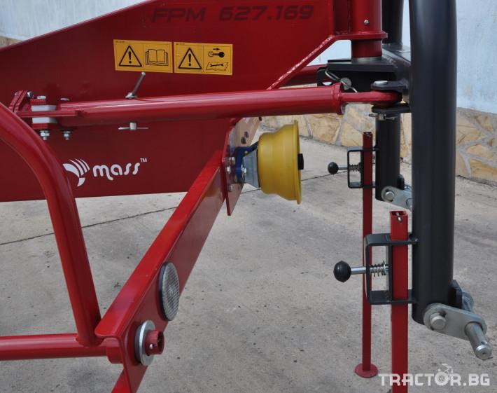 Сенообръщачки Cеносъбирачи FPM  Agromehanika 9 - Трактор БГ